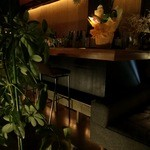 Dining Bar 鴨川 Wadi - カウンター席