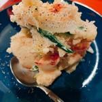 エビバル シモンズ - オマール海老入りのポテサラ、美味かった