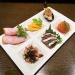 無国籍酒肴 Himeji - ちょい盛りオードヴル(1,500円)