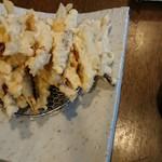 櫻壽 - やっぱり多かったキビナゴの天ぷら。