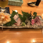 toko - お刺身の盛り合わせ(^^)