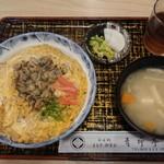 青柳亭 - しじみ丼¥750-