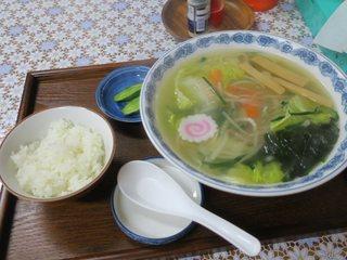 松の食堂 - タンメン(¥650)