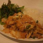 10664397 - パワーランチ(豚肉とたっぷり野菜のマヨ炒め