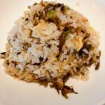 ニイハオ - 高菜チャーハン