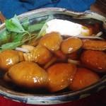 蕎麦 山猫 - 「なめことくずし豆腐」太麺