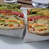 アンドサンドイッチ - 料理写真:やさいのサンドイッチ 1200円(税抜)