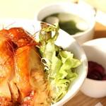カフェ&ダイニング フェルマータ - 信州福味鶏使用 福ちゃんボウル