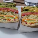 アンドサンドイッチ - やさいのサンドイッチ 1200円(税抜)