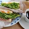 自休自足 - 料理写真:店長のきまぐれサンドイッチ&コーヒー