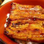 登三松 - 愛知もしくは鹿児島の鰻を使用。ごはんは新潟産コシヒカリを使用