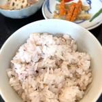 地産地消・美と健康 ルミエール - 日替わりランチ(丹波高原豚のおろしそハンバーグ)