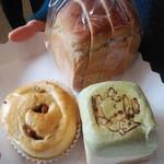 山のパン屋さん 瀬女 - 料理写真:購入した3種のパン