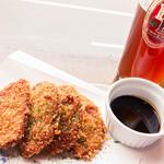 沼津フィッシュマーケットタップルーム - 料理写真:黒はんぺんフライ(税込\550)