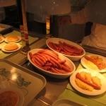 クリスタルパレス レストラン - 料理たち