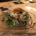居酒屋 をさむ - 海鮮カルパッチョ