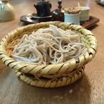 三城 - 足つき蕎麦ざる  すてき