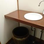 三城 - お手洗い