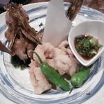 大阪産(もん)料理 空 - アコウの唐揚げ(2人分)、