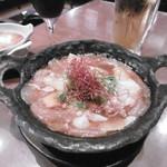 大阪産(もん)料理 空 - 犬鳴豚とジャガイモのうま煮(2人分)
