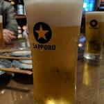 サカズキ屋 - 生ビール