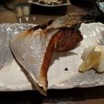 サカズキ屋 - ぶりかま塩焼き