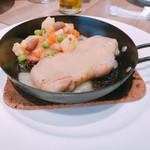 レストラン マルヤマ - 同僚が選んだ肉料理(*^o^*)