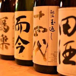 『蕎麦懐石』と愉しむ稀少な日本酒…十四代・而今・田酒など