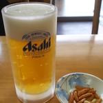 中華 長太郎飯店 - 生ビール