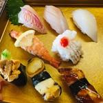 寿司一作 - 上にぎり 赤ウニ入り  3,500円