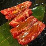 あっぷるぐりむバーンズ - 料理写真:牛肉