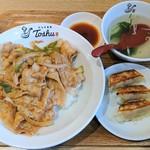 れんげ食堂 Toshu - 料理写真:豚焼肉丼ランチ¥680(税込)