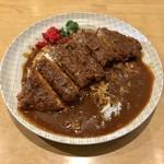 にゅうとん - 料理写真:カレー大(ロースカツ160g) 1100円