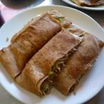 ちょぼ焼き はす多 - ちょぼ+野菜+麺