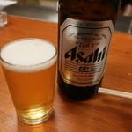 天平 - 瓶ビール