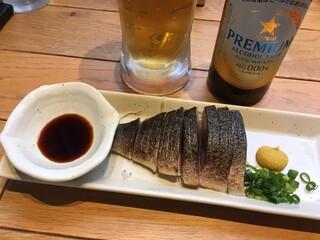 いまがわ食堂 - 大トロ炙り〆鯖 ハーフサイズ