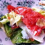 いかやき 福寿草 - サーモン飯寿司