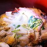 いかやき 福寿草 - 魚貝丼アップ