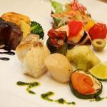 10668309 - お箸で食べる和と洋が融合する創作フレンチ