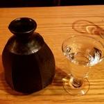 まぐろと酒 とらえもん - 石鎚 純米吟醸 緑ラベル:2,300円税別