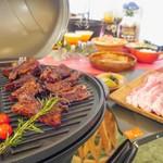 サニーガーデン 全天候型 室内快適BBQ&親子cafe -