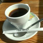 """106681301 - 本日のコーヒー ♪  大好きな """" サザ """""""