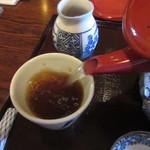 玄庵 - 自然体の蕎麦湯