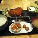 みろく 渋谷店 - ランチ イベリコ豚メンチカツ 900円