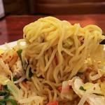 ビックラーメン - 細麺リフト