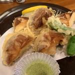 中央酒場 - しいたけやま天ぷら