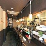 柔製麺 - 店内1