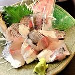 魚貝料理 たかはし - 鯵の刺身