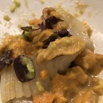 白鷹 - 山葵と醤油で混ぜ混ぜ
