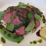 ビストロ ダイア - オーストリア産牛リブロース肉のグリエ パセリにんにくのブルゴーニュ風